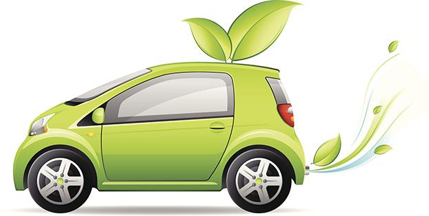 Little green car
