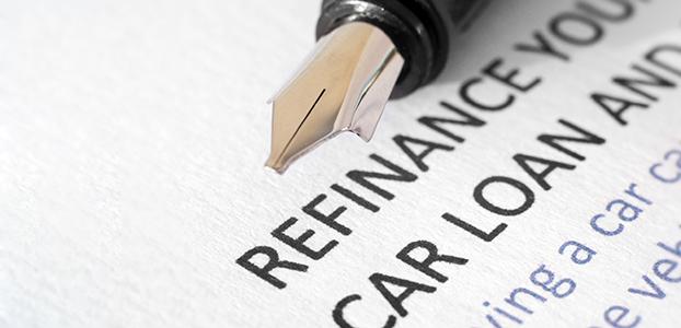 Car loan refinancing document