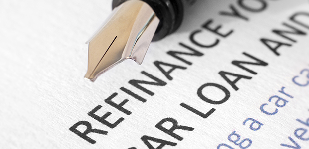 Car loan refinancing document