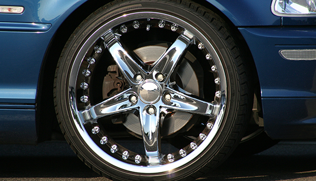 Custom wheel and tire